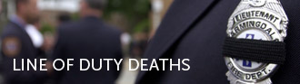 Line of Duty Deaths header